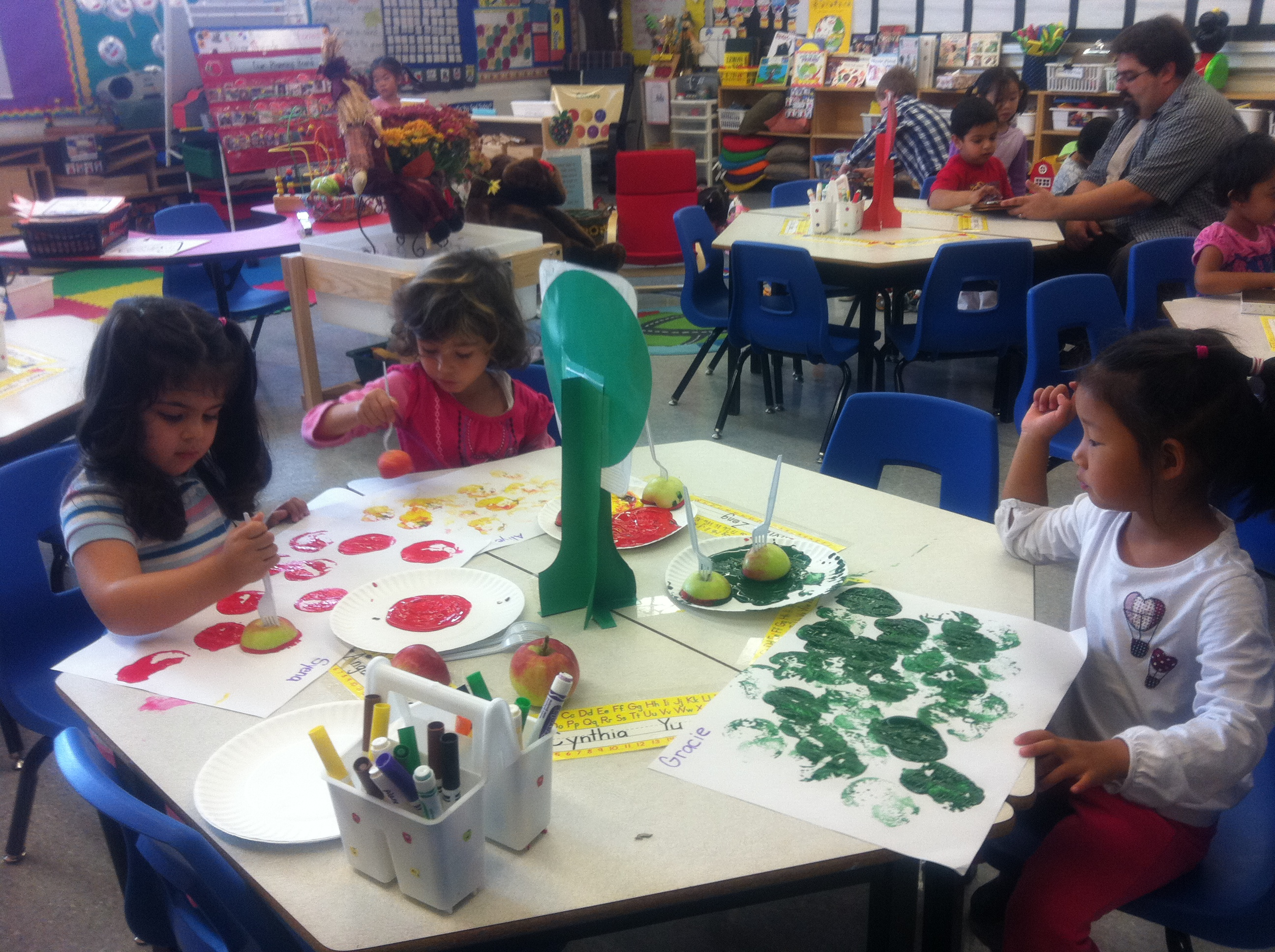 apple prints apple tasting and table tops jk sk with ms jo