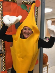 Mrs. McCarthy goes bananas!
